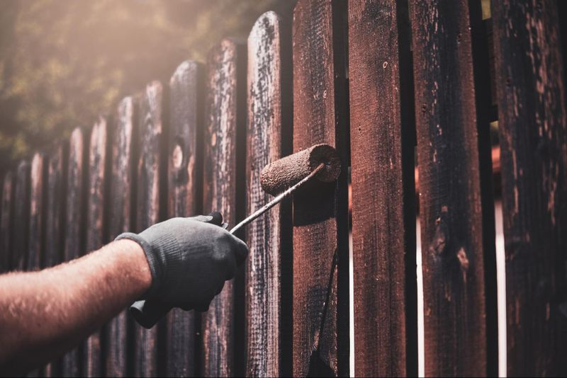 Wondering what your spring clean-up checklist should include? Add painting your fence to the list!
